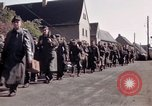 Image of German prisoners under Allied guard in Germany Germany, 1945, second 20 stock footage video 65675040698