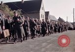 Image of German prisoners under Allied guard in Germany Germany, 1945, second 21 stock footage video 65675040698