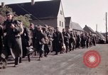Image of German prisoners under Allied guard in Germany Germany, 1945, second 22 stock footage video 65675040698