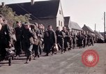 Image of German prisoners under Allied guard in Germany Germany, 1945, second 23 stock footage video 65675040698