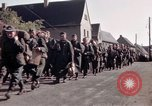 Image of German prisoners under Allied guard in Germany Germany, 1945, second 24 stock footage video 65675040698