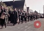Image of German prisoners under Allied guard in Germany Germany, 1945, second 25 stock footage video 65675040698