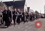 Image of German prisoners under Allied guard in Germany Germany, 1945, second 26 stock footage video 65675040698