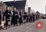 Image of German prisoners under Allied guard in Germany Germany, 1945, second 27 stock footage video 65675040698