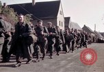 Image of German prisoners under Allied guard in Germany Germany, 1945, second 28 stock footage video 65675040698
