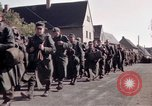 Image of German prisoners under Allied guard in Germany Germany, 1945, second 29 stock footage video 65675040698