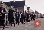 Image of German prisoners under Allied guard in Germany Germany, 1945, second 30 stock footage video 65675040698