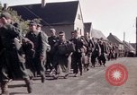 Image of German prisoners under Allied guard in Germany Germany, 1945, second 31 stock footage video 65675040698