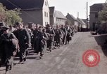 Image of German prisoners under Allied guard in Germany Germany, 1945, second 32 stock footage video 65675040698