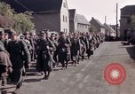 Image of German prisoners under Allied guard in Germany Germany, 1945, second 33 stock footage video 65675040698