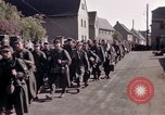 Image of German prisoners under Allied guard in Germany Germany, 1945, second 35 stock footage video 65675040698