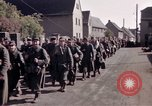 Image of German prisoners under Allied guard in Germany Germany, 1945, second 36 stock footage video 65675040698