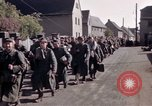 Image of German prisoners under Allied guard in Germany Germany, 1945, second 37 stock footage video 65675040698