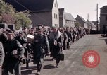 Image of German prisoners under Allied guard in Germany Germany, 1945, second 39 stock footage video 65675040698