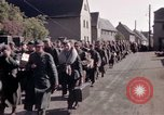 Image of German prisoners under Allied guard in Germany Germany, 1945, second 40 stock footage video 65675040698
