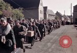 Image of German prisoners under Allied guard in Germany Germany, 1945, second 42 stock footage video 65675040698