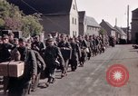 Image of German prisoners under Allied guard in Germany Germany, 1945, second 44 stock footage video 65675040698
