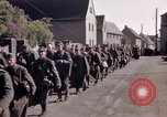 Image of German prisoners under Allied guard in Germany Germany, 1945, second 45 stock footage video 65675040698