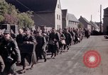 Image of German prisoners under Allied guard in Germany Germany, 1945, second 46 stock footage video 65675040698
