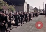 Image of German prisoners under Allied guard in Germany Germany, 1945, second 50 stock footage video 65675040698