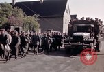 Image of German prisoners under Allied guard in Germany Germany, 1945, second 52 stock footage video 65675040698