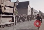 Image of German prisoners under Allied guard in Germany Germany, 1945, second 57 stock footage video 65675040698