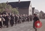 Image of German prisoners under Allied guard in Germany Germany, 1945, second 58 stock footage video 65675040698