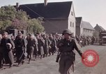 Image of German prisoners under Allied guard in Germany Germany, 1945, second 59 stock footage video 65675040698