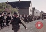 Image of German prisoners under Allied guard in Germany Germany, 1945, second 60 stock footage video 65675040698