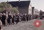Image of German prisoners under Allied guard in Germany Germany, 1945, second 61 stock footage video 65675040698