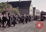 Image of German prisoners under Allied guard in Germany Germany, 1945, second 62 stock footage video 65675040698