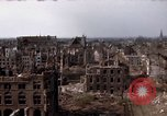 Image of War-torn city of Cologne Cologne Germany, 1945, second 51 stock footage video 65675040700