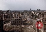 Image of War-torn city of Cologne Cologne Germany, 1945, second 56 stock footage video 65675040700