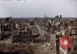 Image of War-torn city of Cologne Cologne Germany, 1945, second 57 stock footage video 65675040700