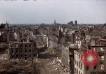 Image of War-torn city of Cologne Cologne Germany, 1945, second 59 stock footage video 65675040700