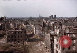 Image of War-torn city of Cologne Cologne Germany, 1945, second 62 stock footage video 65675040700