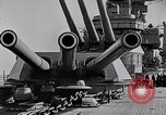 Image of US Navy battle fleet engaged in exercises on the high seas Pacific Ocean, 1925, second 34 stock footage video 65675040705