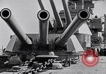 Image of US Navy battle fleet engaged in exercises on the high seas Pacific Ocean, 1925, second 35 stock footage video 65675040705