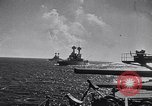 Image of US Navy battle fleet engaged in exercises on the high seas Pacific Ocean, 1925, second 38 stock footage video 65675040705