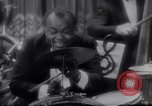 Image of jazz drummer musician United States USA, 1935, second 3 stock footage video 65675040710