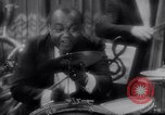 Image of jazz drummer musician United States USA, 1935, second 4 stock footage video 65675040710