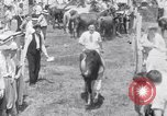 Image of Horse buyers Chincoteague Island Virginia USA, 1931, second 54 stock footage video 65675040715