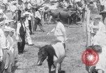 Image of Horse buyers Chincoteague Island Virginia USA, 1931, second 55 stock footage video 65675040715