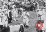 Image of Horse buyers Chincoteague Island Virginia USA, 1931, second 56 stock footage video 65675040715