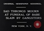Image of Michael Vengalli funeral procession New York City USA, 1931, second 7 stock footage video 65675040716