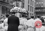 Image of Michael Vengalli funeral procession New York City USA, 1931, second 44 stock footage video 65675040716