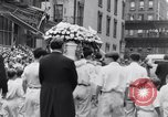 Image of Michael Vengalli funeral procession New York City USA, 1931, second 45 stock footage video 65675040716
