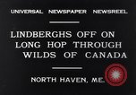 Image of Charles Lindbergh North Haven Maine USA, 1931, second 9 stock footage video 65675040722