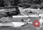 Image of Charles Lindbergh North Haven Maine USA, 1931, second 17 stock footage video 65675040722