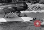 Image of Charles Lindbergh North Haven Maine USA, 1931, second 19 stock footage video 65675040722
